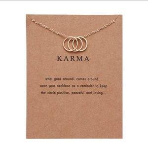 Jewelry - 💥[2 for $10]💥 Karma Necklace